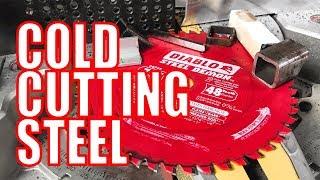 Diablo Steel Demon Cermet and Carbide Metal Saw Blade Video