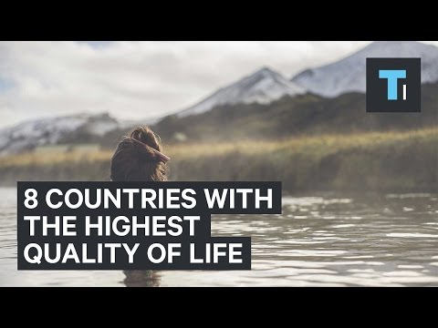 Video 8 countries with the highest quality of life