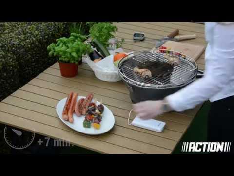 Picknick grill elektrisch