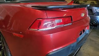 How to: Open the Trunk on a 2015 Convertible Camaro if its LOCKED!