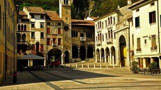 preview picture of video 'Vittorio Veneto - Piazza Flaminio a Serravalle'