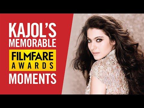 Kajol's Best Filmfare Awards Moments | Kajol Best Actress Kuch Kuch Hota Hai | Birthday Special