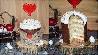 ТОРТ - Кулич ☆ Пасхальный торт в форме КУЛИЧА