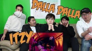 ITZY - DALLA DALLA MV REACTION (FUNNY FANBOYS)