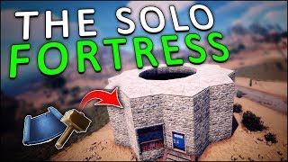 STARTING my BEST SOLO BUNKER FORTRESS! - Rust Solo #1