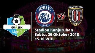 Live Streaming Indosiar Liga 1 Indonesia, Arema FC Vs Bali United Pukul 15.30 WIB