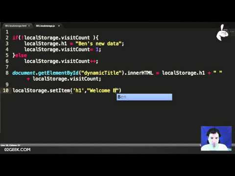 what are the web storages are available in html5