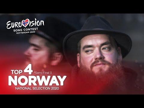 🇳🇴: Eurovision 2020 - Melodi Grand Prix 2020 - Semi-Final 3 - Top 4
