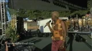 Angelique Kidjo @ Harmony Festival - Gimme Shelter