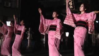 おわら風の盆、上新町の舞台踊り-富山県八尾町/ToyamaPrefecture,Japan