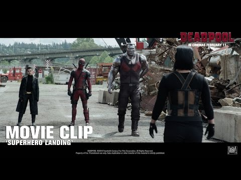 Deadpool: 'Superhero Landing'