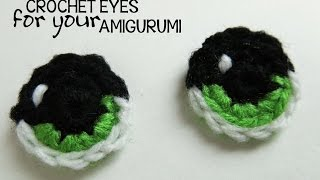 HodgePodge Crochet Presents How To Crochet Eyes For Your Amigurumi
