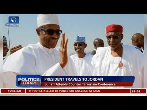 President Buhari Attends Counter Terrorism Conference In Jordan
