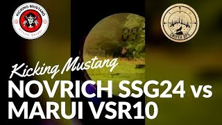 Novritsch SSG24 vs Tokyo Marui VSR