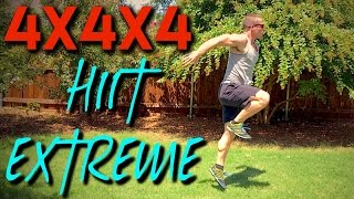 4x4x4 HIIT EXTREME CARDIO by Trainer Ben