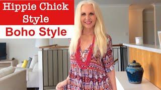 Boho & Boho Chic Style Older Women