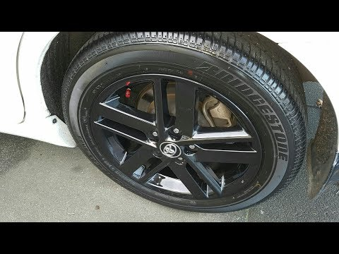 Meguiars Hot Rims Wheel and Tire cleaner :  How to, Review and Results 2017