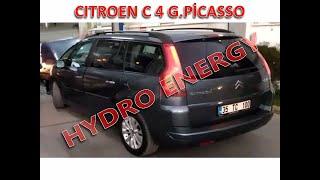 Citroen C4 G. Picasso hidrojen yakıt tasarruf sistem montajı