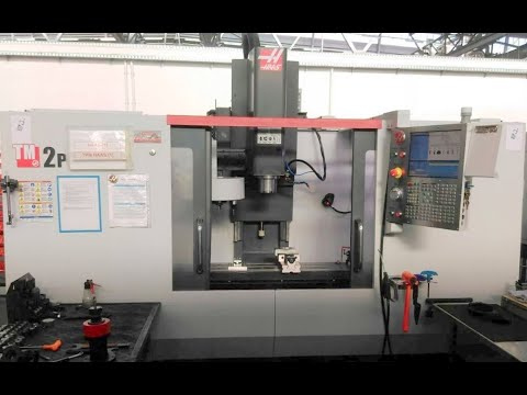 CNC Vertical Machining Center HAAS TM 2P 2015
