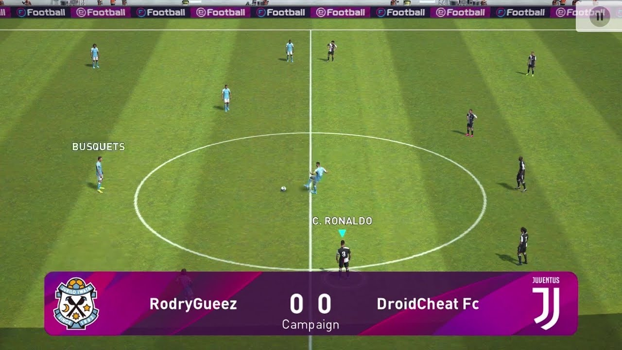 Pes 2020 Mobile Pro Evolution Soccer Android Gameplay #2