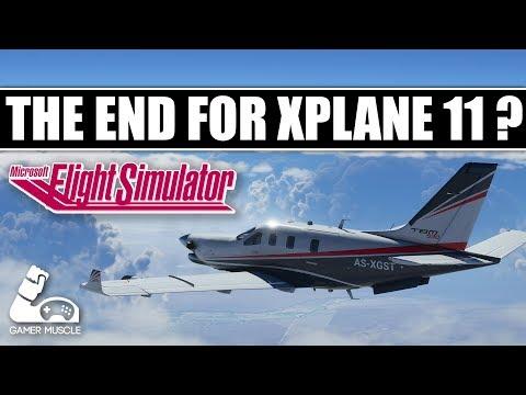 Is Microsoft Flight Simulator 2020 The End For Xplane 11 ?