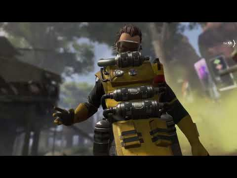 Caustic Gameplay XBOX ONE X - Apex Legends