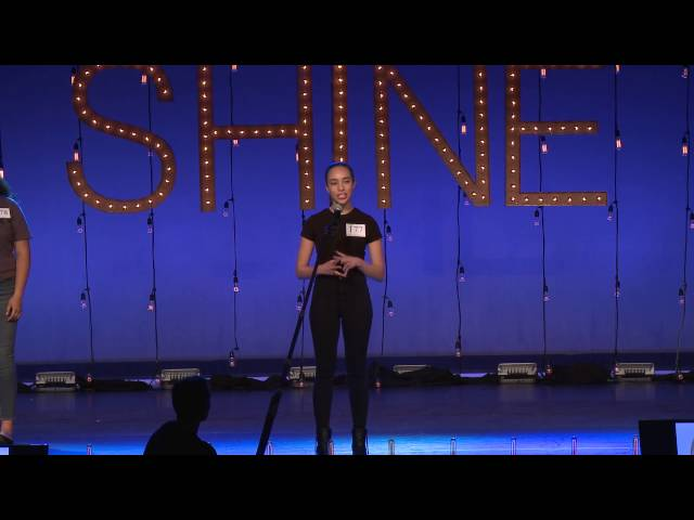 SHINE2016, Slate at International Presentation of Performers, AMTC 2016 07 17 13 20 56