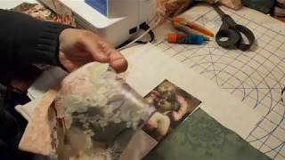 Crazy Quilt Block Tutorial Part 1