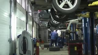 Замена катализатора   VW Golf. Замена катализатора в СПБ.