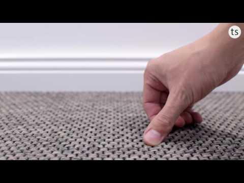 Turania Flachgewebe Teppichboden in 6 Farben und 400 & 500cm Rollenbreite