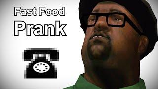 Big Smoke Calls Del Taco - Grand Theft Auto Prank Call