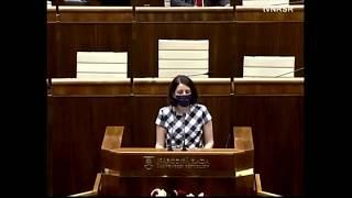Vystúpenie v parlamente k programovému vyhláseniu vlády