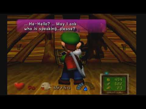 Luigi Hanging Himself (Luigi's Mansion GCN)