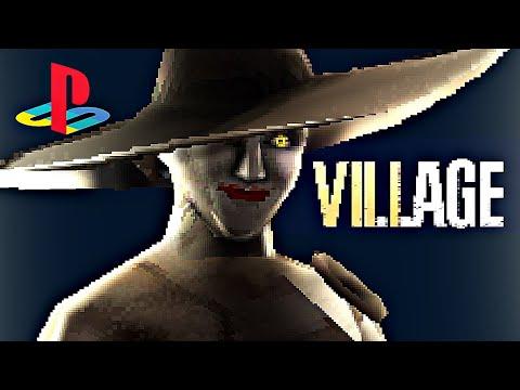 粉絲製作《惡靈古堡 村莊》PS1 版預告