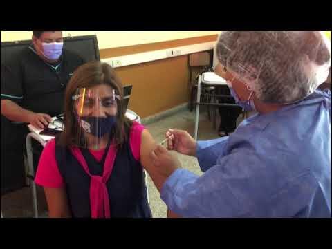 Video: Testimonios en el inicio de la vacunación a docentes en Salta