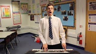 Pressing The DJ Button at School