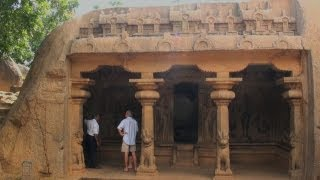 Sculptured panels of Varaha temple