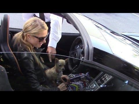 Paris Hilton không biết cách khởi động siêu xế của mình
