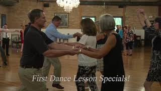 First Dance Lesson Promotion Specials