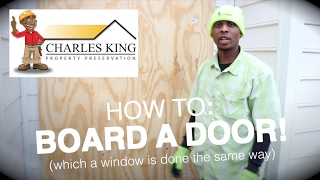PROPERTY PRESERVATION TRAINING - How To Board A Door/Window HUD SPEC
