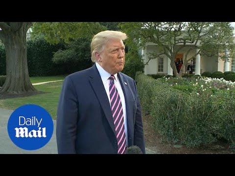 Trump calls 200,000 Covid-19 deaths in US 'a shame'