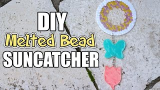 DIY Melted Bead Suncatcher