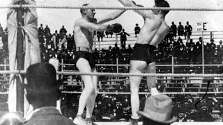 Bob Fitzsimmons vs James J  Corbett