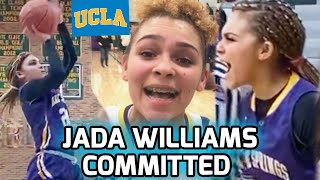 JADA WILLIAMS COMMITS TO UCLA! Five-Star Sophomore Is One Of The BEST PLAYERS IN THE NATION 🔥