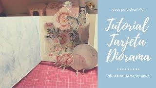 Tutorial    Ideas Para Snail Mail    Tarjeta Diorama   