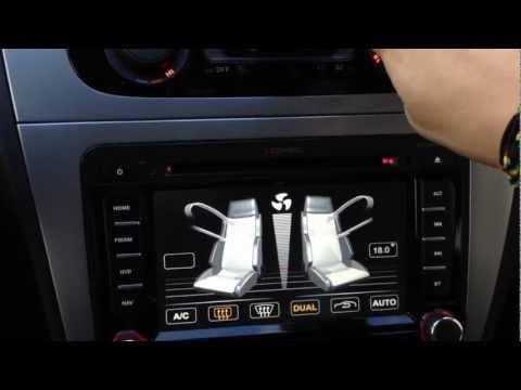 ZENEC ZE-NC2011D ve voze SEAT ALTEA XL 2012
