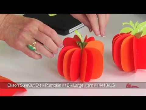 Ellison Education Series - 3-D Pumpkins