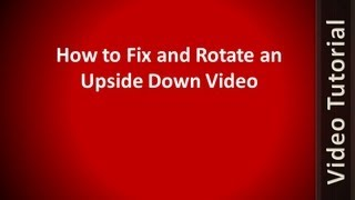 How to rotate a video in vlc media player permanently most how to fix and rotate any video recorded upside down works for android iphone ccuart Images