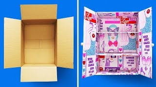 29 CARDBOARD BOXES CRAFTS