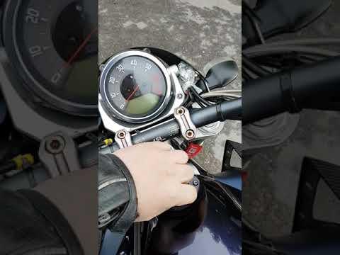 Yamaha MT-01 Start up
